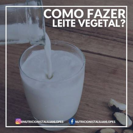 como fazer leite